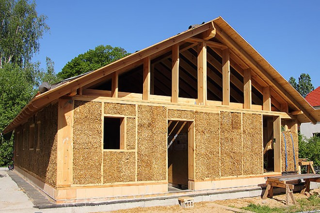 Other types of construction smarter homes for Straw bale garage plans